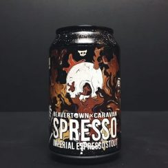 Beavertown Spresso Imperial Espresso Stout Began friendly London