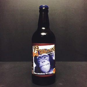 Blue Monkey 99 Red Baboons Dark Ruby Ale Nottingham