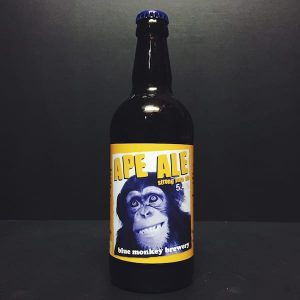Blue Monkey Ape Ale Nottingham Vegan friendly