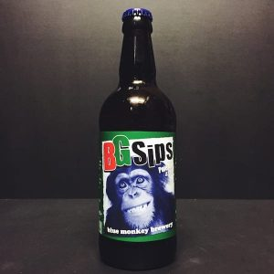 Blue Monkey BG Sips Pale Ale Nottingham Vegan friendly.