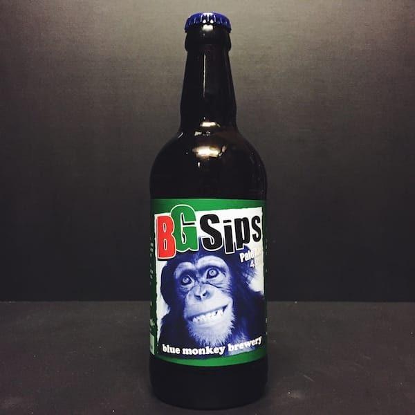 Blue Monkey BG Sips Pale Ale Nottingham Vegan friendly.