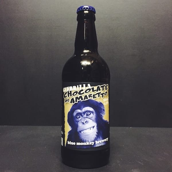 Blue Monkey Chocolate Amaretto Guerrilla Nottingham Vegan friendly