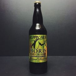 Hoppin Frog BORIS The Crusher Grand Reserve Oatmeal Imperial Stout. USA