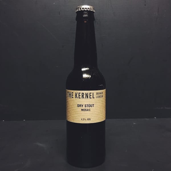 The Kernel Dry Stout Mosaic London Vegan friendly