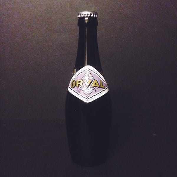Orval Belgian Brett Pale Belgium Vegan friendly