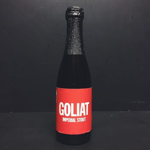 To Øl Goliat Imperial Coffee Oatmeal Stout Denmark