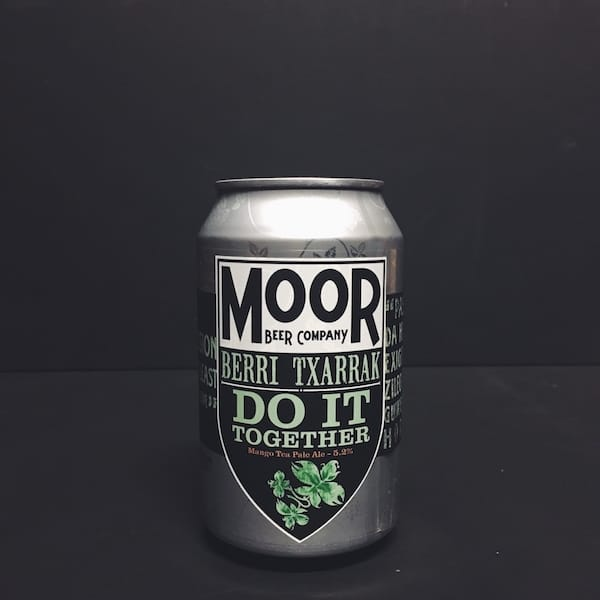Moor Do It Together Mango Tea Pale Bristol Vegan friendly