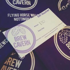 Brew Cavern 5 10 20 30 Pounds Voucher Nottingham