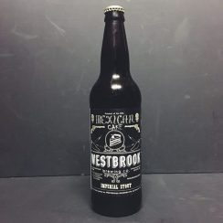 Westbrook Mexican Cake Imperial Stout with chocolate and habanero peppers. USA vegan