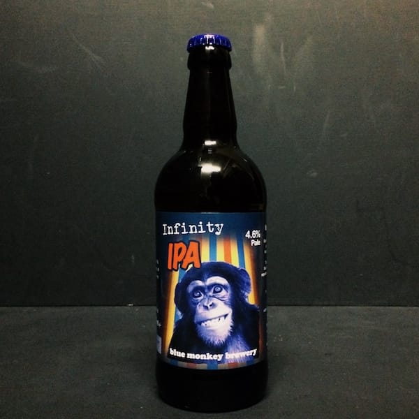 Blue Monkey Infinity IPA Nottingham Vegan friendly