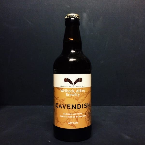 Welbeck Abbey Cavendish Blonde Ale Nottinghamshire