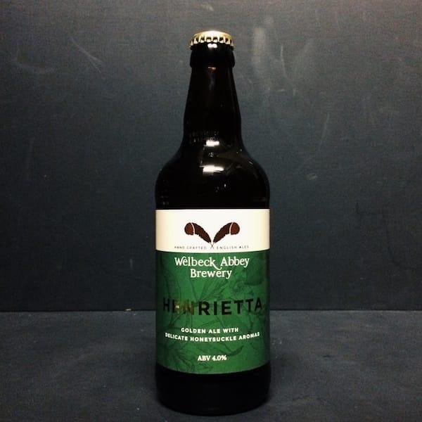 Welbeck Abbey Henrietta Golden Ale Nottinghamshire