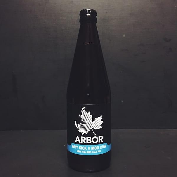 Arbor Why Kick A Moo Cow New Zealand Pale Ale Bristol vegan