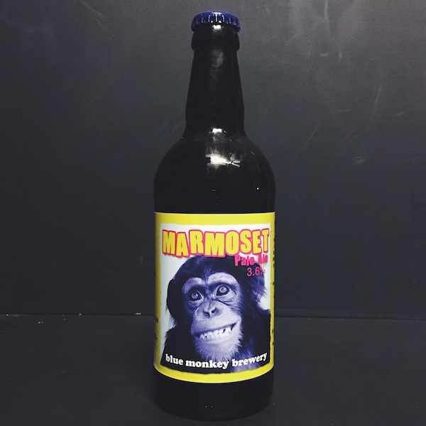 Blue Monkey Marmoset Citra Pale Ale Nottingham Vegan Friendly