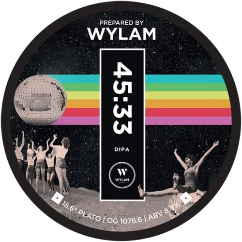 Wylam 45 33 DIPA Newcastle vegan