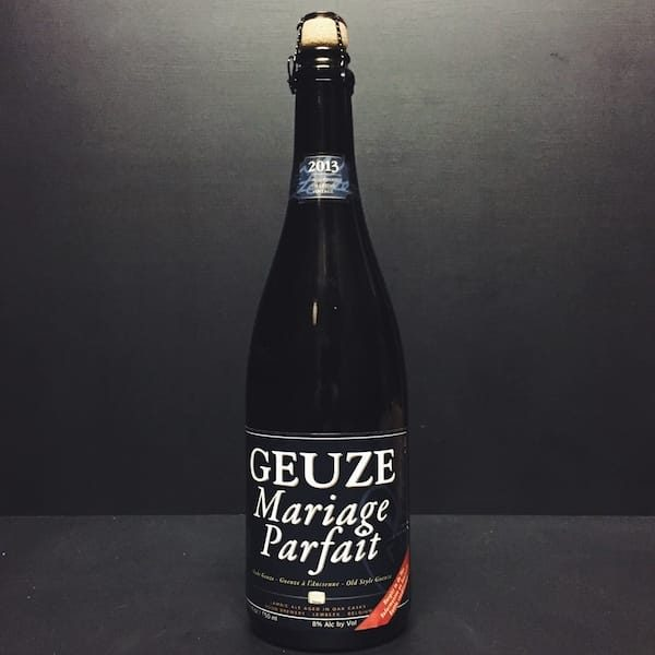 Boon Geuze Mariage Parfait Lambic Belgium