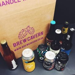 Brew Cavern Hoppy Pales and IPAs beer mixed case 12