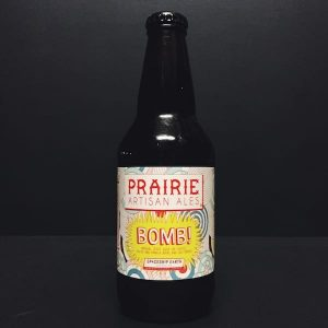 Prairie Ales Bomb! Cacao Coffee Vanilla Chilli Pepper Imperial Stout USA