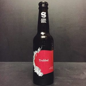 Siren Craft Brew Trubbel Belgian Strong Ale aged in Bourbon Barrels Berkshire