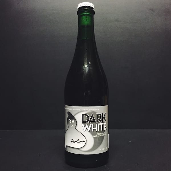 Fantome Dark White Belgian ale brewed with spices. Vegan friendly.