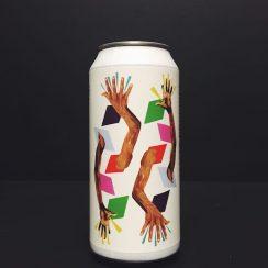 Whiplash Clap Hands American Wheat beer. Brewed in Ireland.