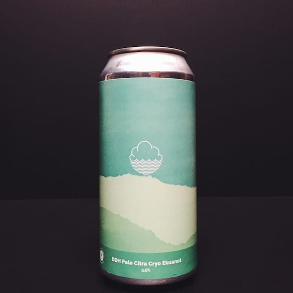 Cloudwater Brew Co DDH Pale Citra Cryo Ekuanot Manchester Vegan friendly