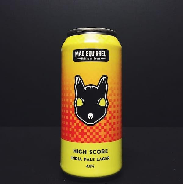 Mad Squirrel High Score IPL India Pale Lager Hertfordshire