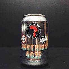 Roosters Anything Gose Rhubarb Ska Collab Yorkshire