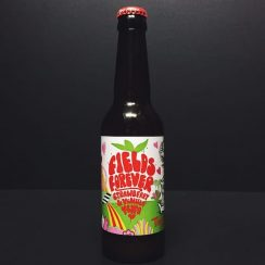 Tiny Rebel Fields Forever Strawberry & Vanilla NEIPA collab with Northern Monk. Wales
