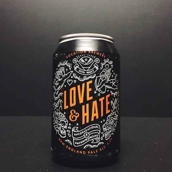 Vocation Love & Hate New England Pale Ale Yorkshire