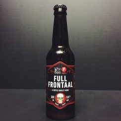 Weird Beard Full Frontaal Coffee Barley Wine. London