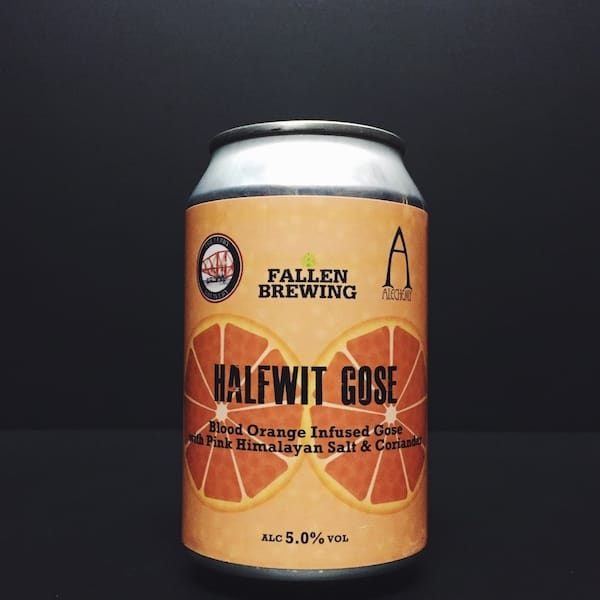 Fallen Alchemy Ferry Brewery Halfwit Gose Blood Orange Scotland