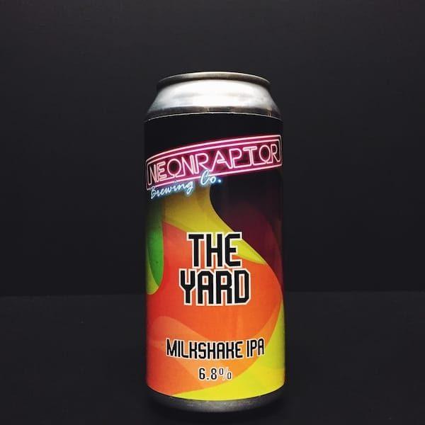 Neon Raptor The Yard Milkshake IPA Mango Passionfruit Nottingham