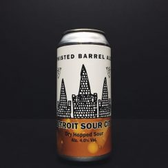 Twisted Barrel Detroit Sour City Dry Hopped Sour Coventry