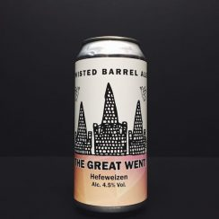 Twisted Barrel The Great Went Hefeweizen Coventry