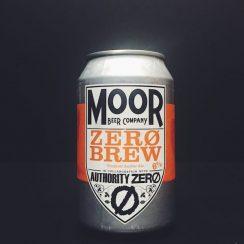 Moor Zero Brew Tropical Amber Ale Bristol