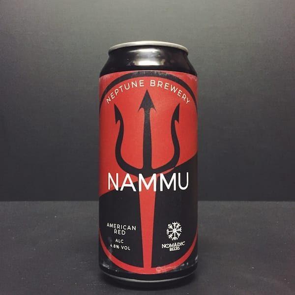 Neptune X Nomadic Nammu American Red Ale Liverpool