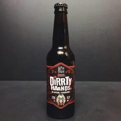 Weird Beard X Haand Bryggeriet Dirrty Haands Imperial Schwarzbier London