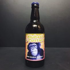 Blue Monkey Blubarb & Custard Wheat Pale Ale Nottingham