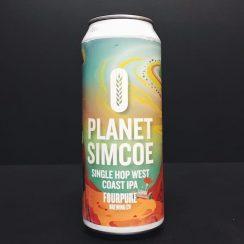Four Pure Planet Simcoe Single Hop West Coast IPA London