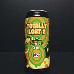Totally Brewed X Lost Industry Totally Lost 2 Lemon Sherbet Sour Nottingham