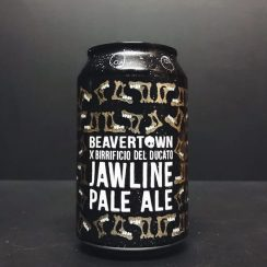 Beavertown X Birrificio Del Ducato Jawline Pale Ale collaboration London