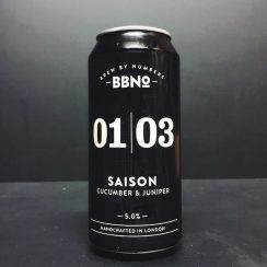 Brew By Numbers 01|03 Cucumber & Juniper Saison London