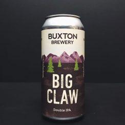 Buxton Brewery Big Claw Double IPA Derbyshire Vegan friendly.