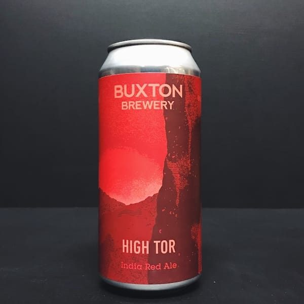 Buxton Brewery High Tor India Red Ale Derbyshire Vegan friendly.