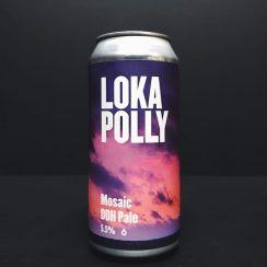 Loka Polly Mosaic DDH Pale Double Dry Hopped Ale Wales Vegan friendly.