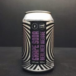 Marble Grape Soda Berliner Weisse Manchester Vegan friendly