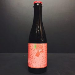 Mikkeller SpontanDoubleRaspberry Sour Ale brewed with raspberries & aged in Oak-barrels Denmark Vegan friendly.