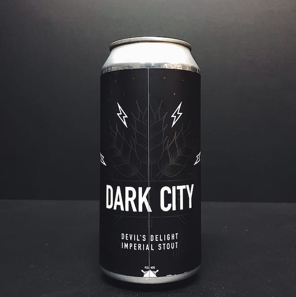 Northern Monk X Lervig Dark City 2018 Imperial Stout with Creme du Cacao Vanilla & Butterscotch Leeds
