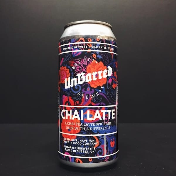 Unbarred Chai Latte Sussex